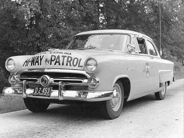 1952 Highway Patrol Car