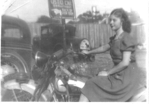My Mother on the Motorcycle